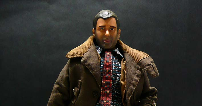 """Brothers Production 1//6 scale Blade Runner Pant+belt for 12/"""" action figure use"""