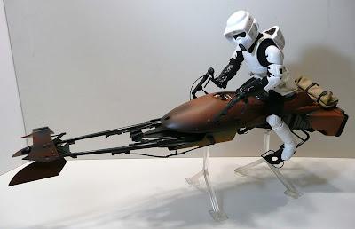 Toyhaven Star Wars Speeder Bike With Scout Trooper By Hasbro