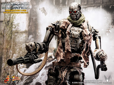 T 800 Terminator Salvation Order your 1/6 Terminator T-800 figure - click on the banner below!