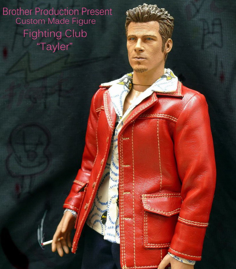 brad pitt hair fight club. He forms a quot;fight clubquot; with