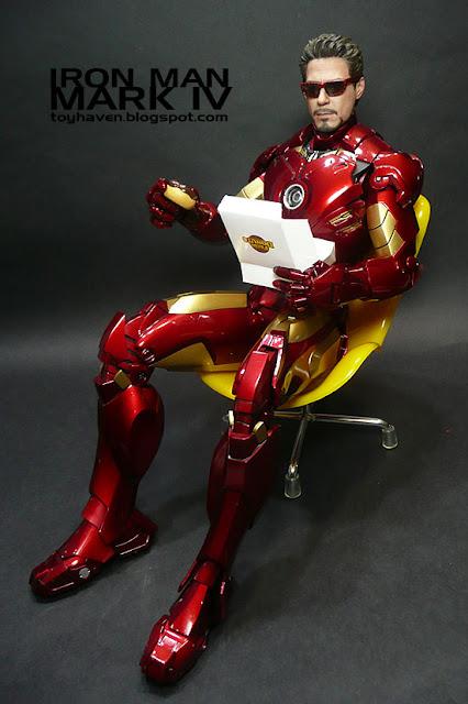 toyhaven: Hot Toys Iron Man 2: Mark IV Review III - Tony ...