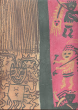 Mayan Cloth  Pastels