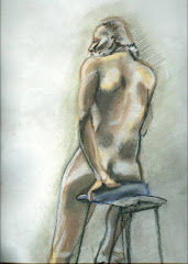 Sketch Male Model Pastels