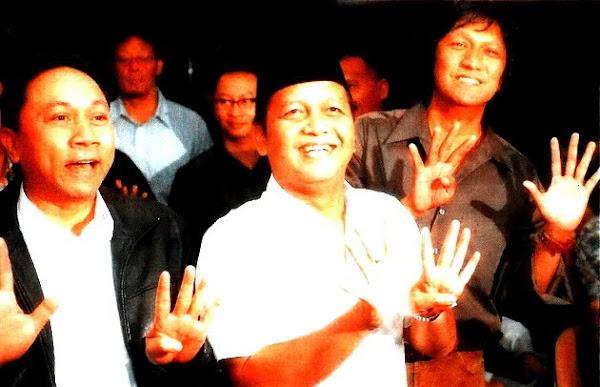 Menhut RI Zulkifli Hasan, Ketum PAN Soetrisno Bachir, Calon Wakil Bupati Lampung Selatan Ikang