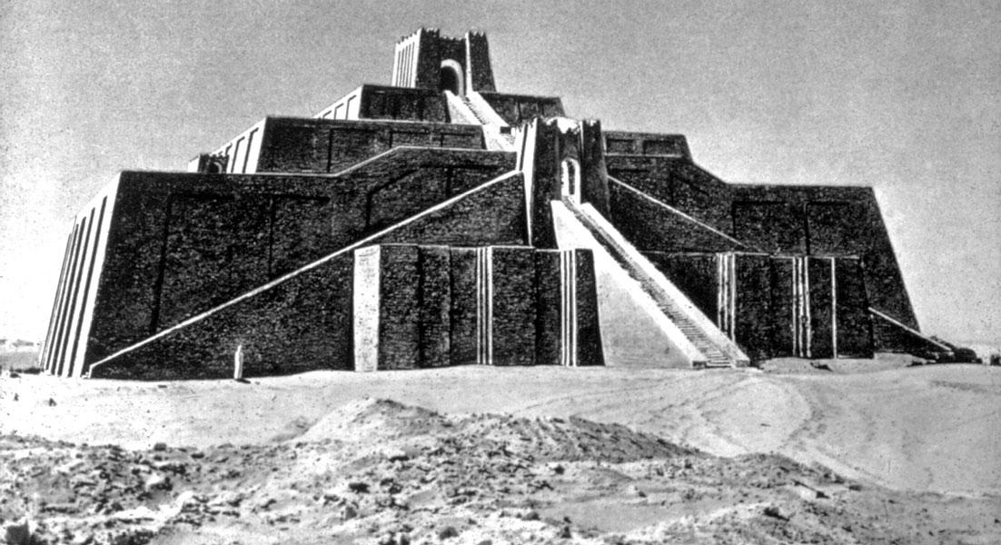 world civilizations one sumerian culture sumerian ziggurat