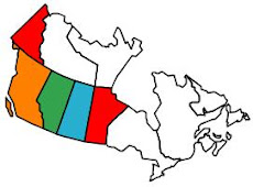 Provinces in Canada that we have visted