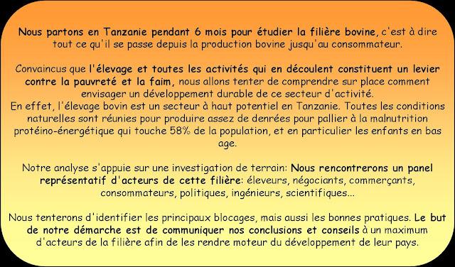 Le projet TANZAGRI en quelques mots