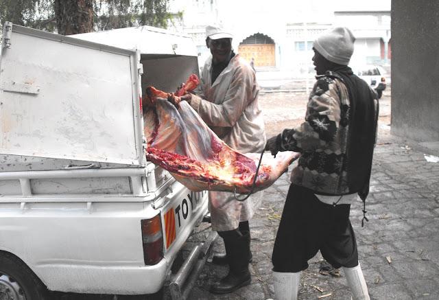 27 octobre - La sortie du meat van
