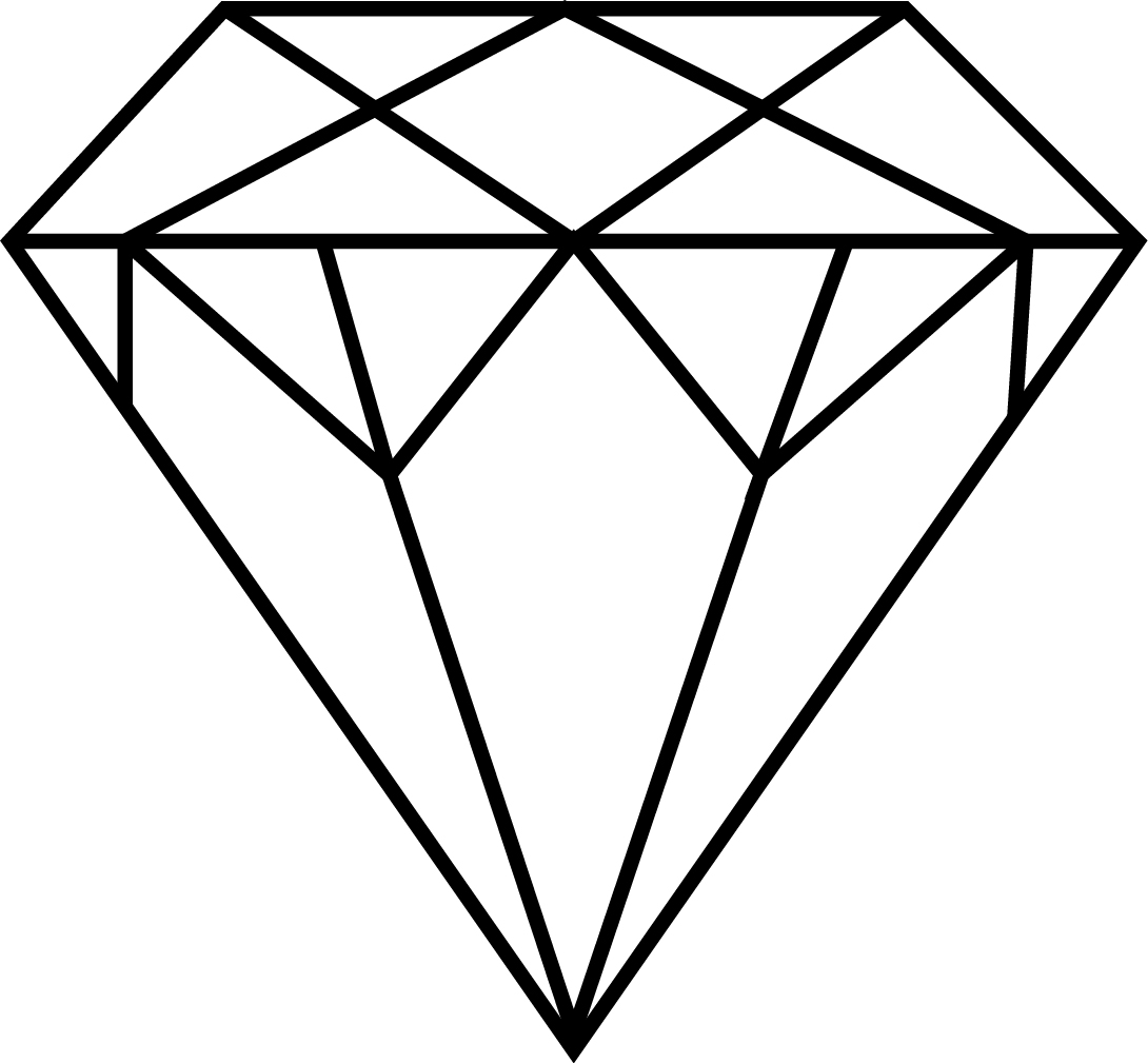 digital drawing - david balmforth  diamond - daily drawing