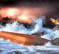 dilúvio - O Dilúvio Universal e suas Implicações  Ark