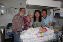Grandpa John, Nana, Mommy, Daddy and I