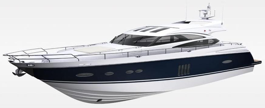 poweryacht mag global informative motorboat page  project  princess v78