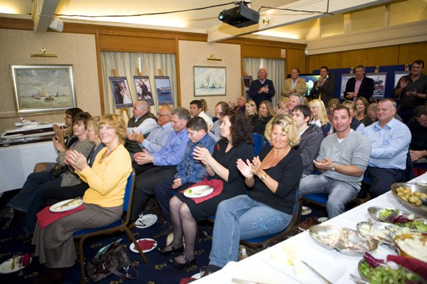 -pic of the month- Azimut Reception at Royal Lymington Yacht Club