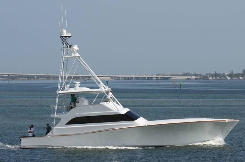 American Custom Yachts recently conducted a successful sea trial of their ...