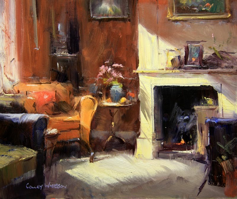 qiang huang a daily painter colley whisson 39 s visit. Black Bedroom Furniture Sets. Home Design Ideas
