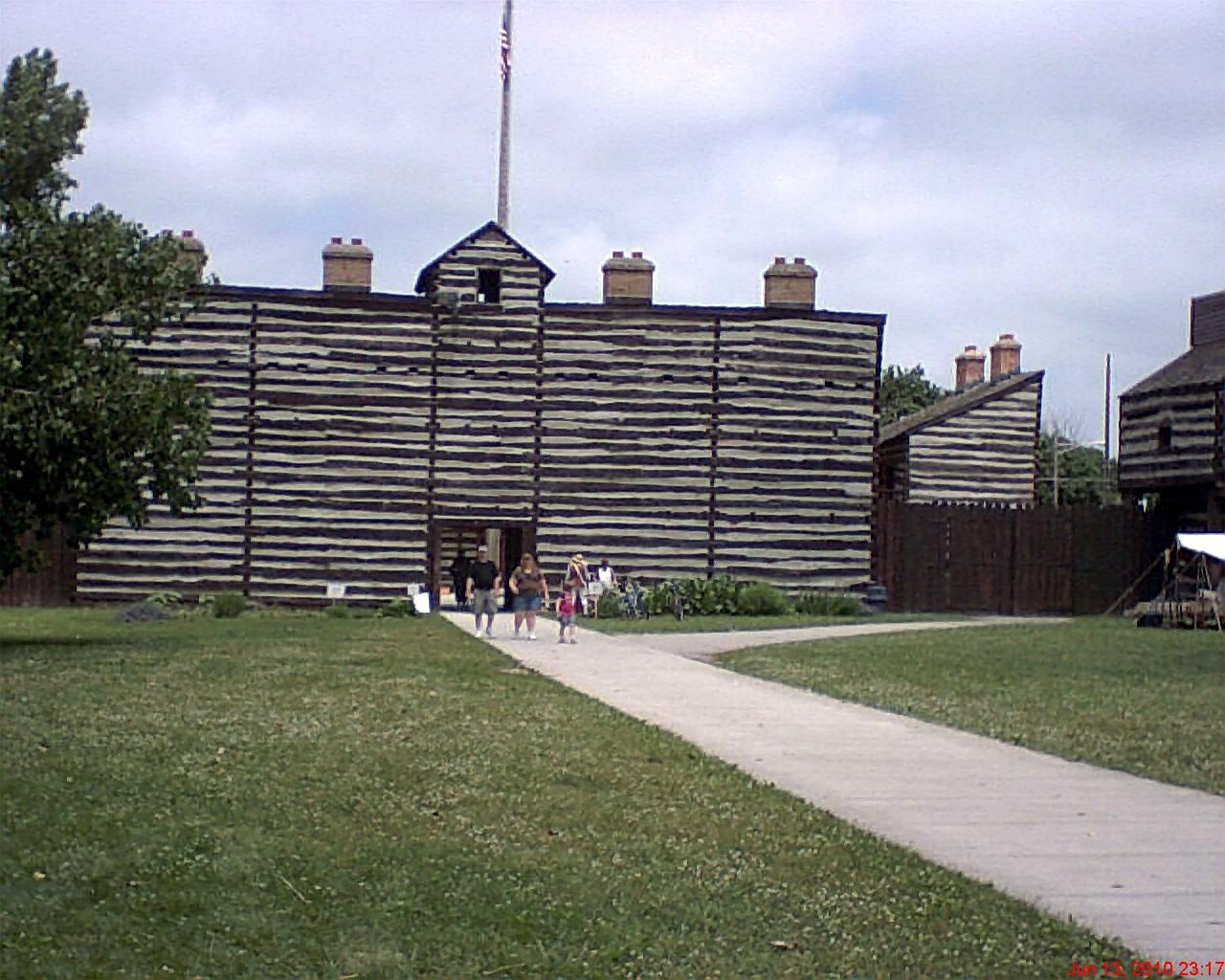 Fort Wayne Mall >> COLONIAL FEDERATION NETWORK: Historic Old Fort Wayne*