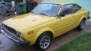 Four Wheels If You Are Lucky 1976 Toyota Corolla Sr5 Coupe 1500