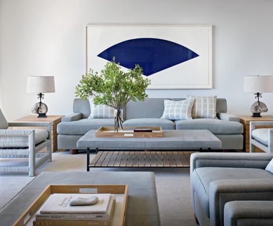 Calm and simple beach house interior design 1 554x458