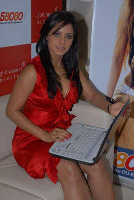 Hot Neetu Chandra At The Launch Of Her Website Photo Gallery Photoshoot images