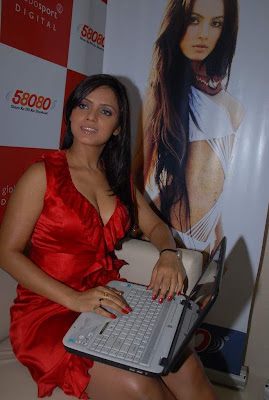 Hot Neetu Chandra At The Launch Of Her Website Photo Gallery unseen pics