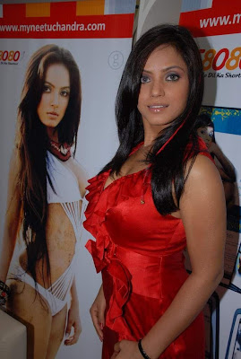 Hot Neetu Chandra At The Launch Of Her Website Photo Gallery sexy stills