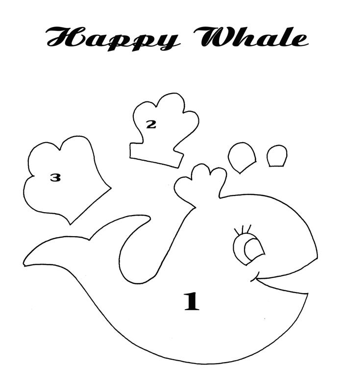 sew lovely embroidery happy whale pin pushie. Black Bedroom Furniture Sets. Home Design Ideas