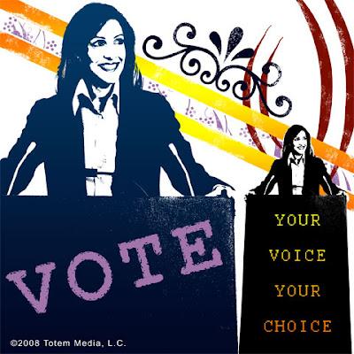 Vote 2008 Vote2008 Be Seen and Heard: VOTE (c) 2008 Totem Media, L.C.