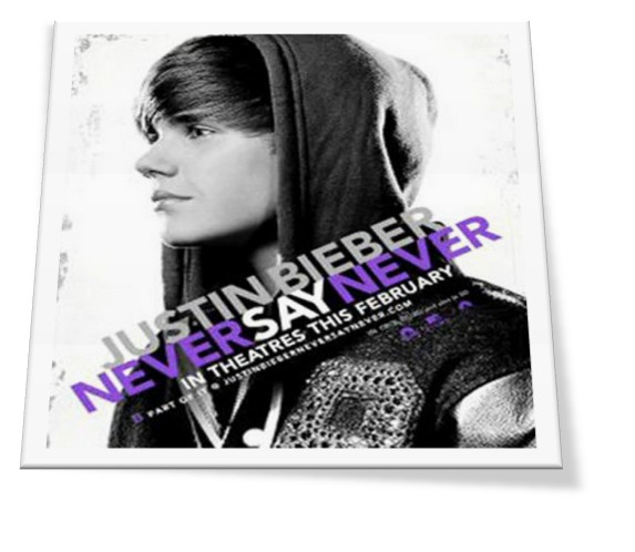 justin bieber never say never 3d premiere. 3D concert movie, NEVER