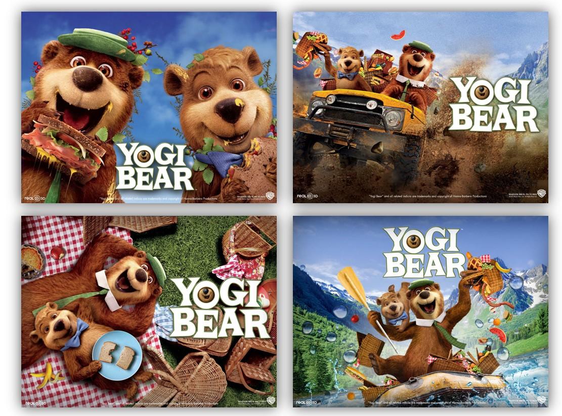 yogi bear live action cast