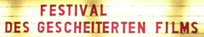 Leuchtschrift Festival des gescheiterten Films