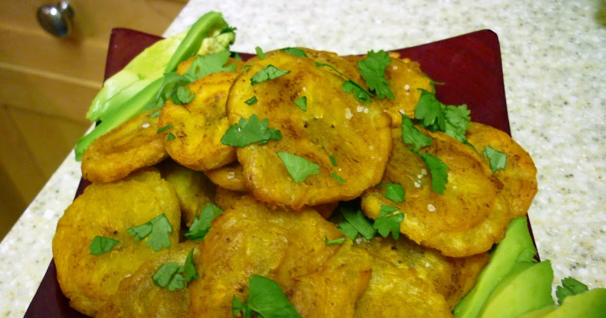 Good Looking Home Cooking: Tostones: Fried Green Plantains