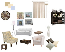 Living Room Inspiration Board