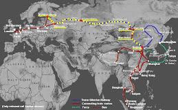 Transsibirischen Eisenbahn