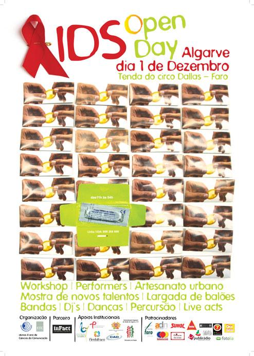 Colaboração na AIDS Open Day Algarve