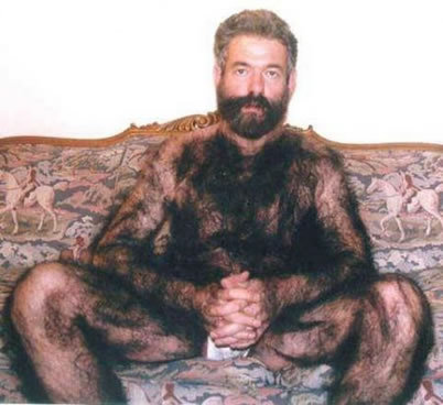 manly guys body hair cuz weird