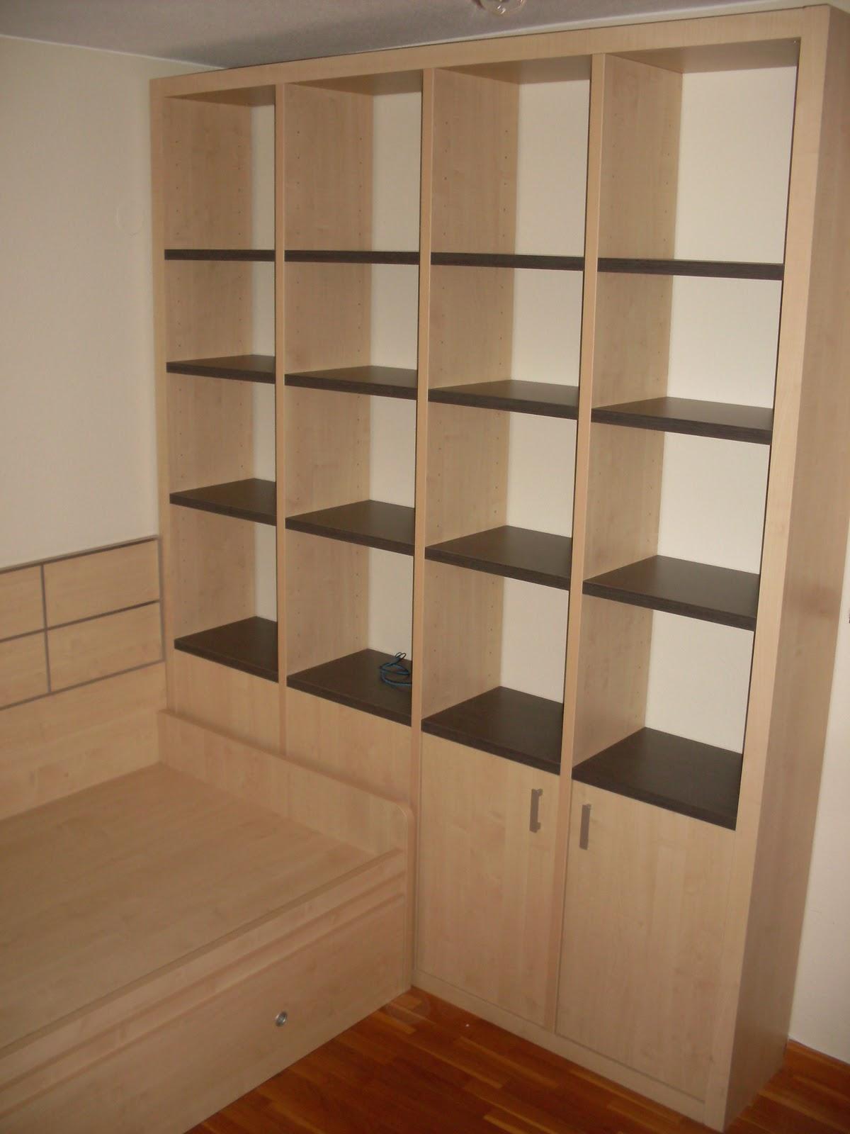 Luis ngel mueblista decorador mueble juvenil y mueble a for Muebles para libros