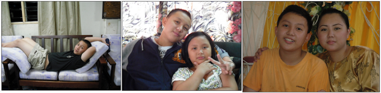 Aku, adik dan kakak