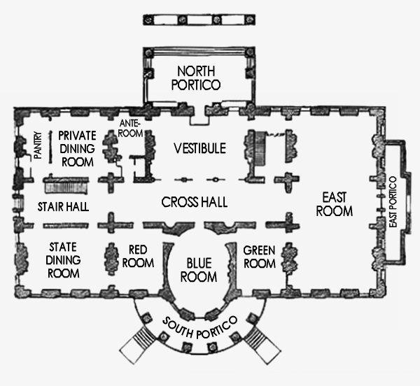 Grundriss 1 Und 2. Stock 1880