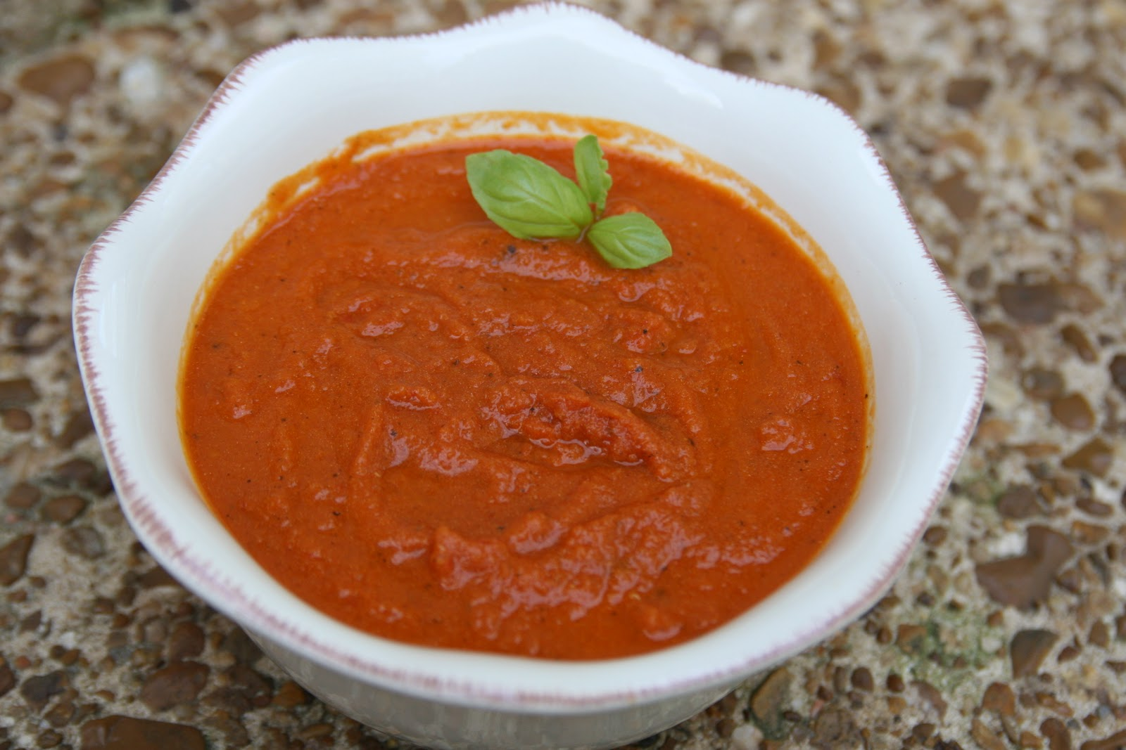 ... Champagne: BEST, BEST Tomato Basil Soup--from Nordstrom Bistro Cafe