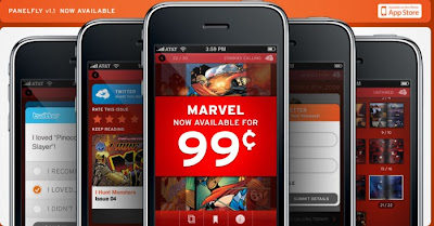 iPhone Marvel Comics