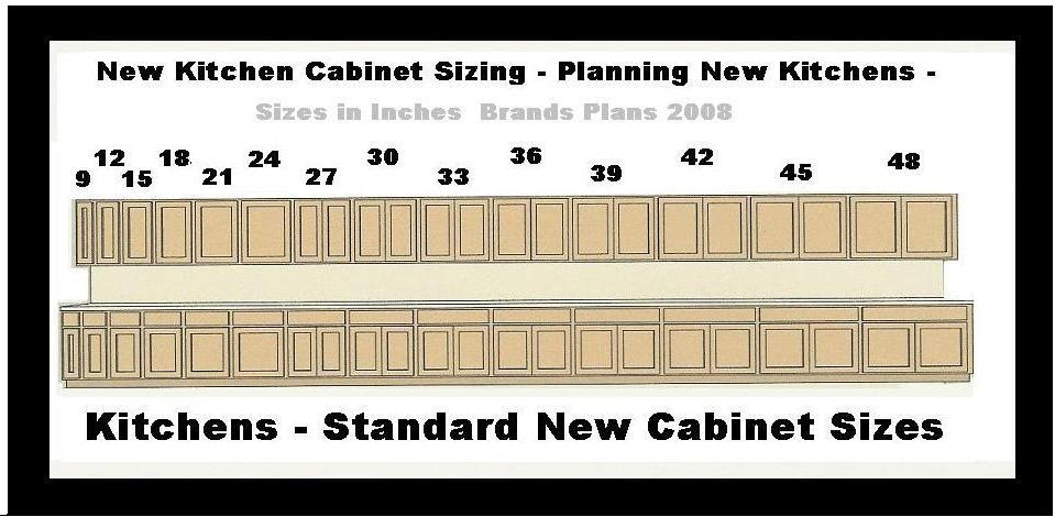 kitchen cabinet sizes kitchen cabinet sizes wall
