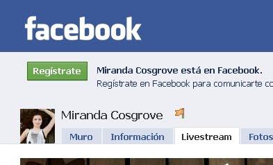 facebook miranda cosgrove