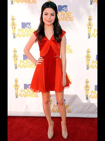 Miranda Cosgrove MTV Movie Awards 2010