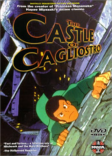 Box art for the 2000 DVD release of Castle of Cagliostro