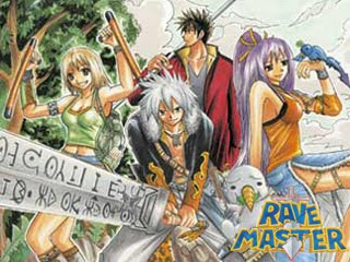 Rave Master, recently rescued by Del Rey