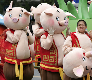 Cosplayers at the third annual third China International Cartoon & Animation Festival [Reuters]