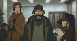 The main cast of Satoshi Kon's Tokyo Godfathers