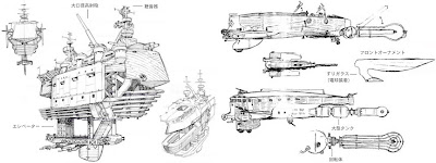 Some of the cool concept art for Last Exile