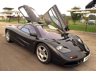 First car McLaren F1 the ultimate road car