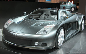 first Chrysler ME 412 at Detroit Auto Show